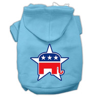 Republican Screen Print Pet Hoodies