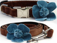 Camellia Collection - Blue- All Metal Buckles