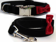 Bowtie Collection - Red All Metal Buckles