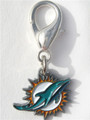NFL Licensed Miami Dolphins Team Logo Charm
