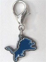 NFL Licensed Detroit Lions Team Logo Charm