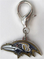 NFL Licensed Baltimore Ravens Charm