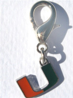 NCAA Licensed Team Charm - University of Miami Hurricanes