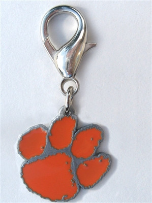NCAA Licensed Team Charm - Clemson Tiger's