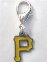 MLB™ Licensed Pittsburgh Pirates Logo Collar Charm