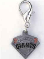 MLB™ Licensed San Francisco Giants Collar Charm