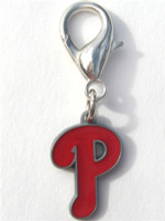 MLB™ Licensed Philadelphia Phillies Logo Collar Charm