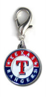 MLB™ Licensed Texas Rangers Logo Collar Charm