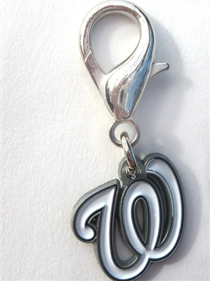 MLB™ Licensed Washington Nationals Logo Collar Charm