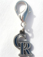 MLB™ Licensed Colorado Rockies Logo Collar Charm