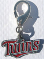 MLB™ Licensed Minnesota Twins Logo Collar Charm