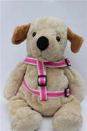 Preppy in Pink Collection - Step In Harnesses All Metal Buckles