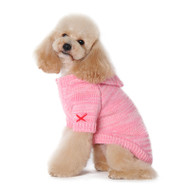 Hoodie Sweater Coat Pink