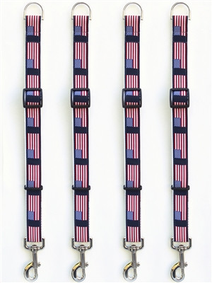 Stars n Stripes Leash Extenders