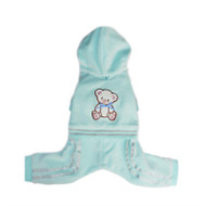 Teddy Bear Tracksuit - Tiffany Blue