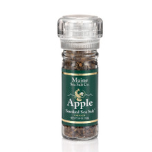 Apple Smoked Maine Sea Salt 3.6 oz Grinder