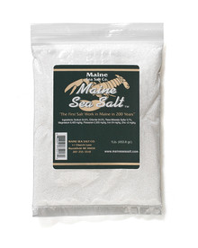 Natural Maine Sea Salt,FINE SIZE 1 lb