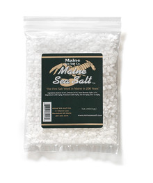 Maine Natural Sea Salt, 1 lb size Crystals