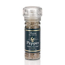 Pepper And Maine Sea Salt