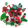 Glass Bead Mix, Merry Christmas (60 gr.)
