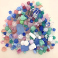 Glass Bead Mix, Cotton Candy (60 gr.)