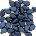 Pip Beads, Dark Slate Blue (Qty. 35)