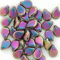 Pip Beads, Metallic Full Vitrail (Qty. 35)