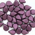 Pip Beads, Pastel Burgundy (Qty. 35)
