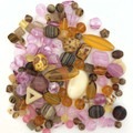 Czech Glass Bead Mix - Desert Bloom (60 gr.)