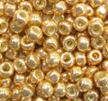 6-P471, Gold Permanent Galvanized (Toho PF557)