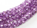 4mm Firepolish - Purple Metallic Ice (50)