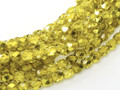 3mm Firepolish - Citron Metallic Ice (50)