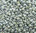 15-P487, Silver Sage Permanent Galvanized (Toho) (3-inch tube)