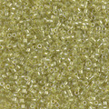 11-DB-0910, Sparkling Yellow Green-Lined Crystal (10 gr.)