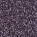 11-DB-0695, Semi-Matte Silver-Lined Dyed Violet (10 gr.)