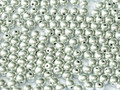 4mm Glass Round Beads (Druks) - Full Labrador (50)