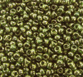 15-0306, Olive Green Gold Luster