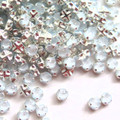 12ss Swarovski Rose Montees - Crystal Powder Blue