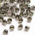 16ss Swarovski Rose Montees - Crystal Metallic Light Gold (50)