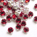 16ss Swarovski Rose Montees - Light Siam
