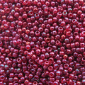11-319H, Transparent Cranberry Gold Luster