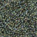 11-361, Chartreuse Lined Olivine AB (Miyuki)