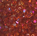 3mm Swarovski Bicones, Crystal Astral Pink