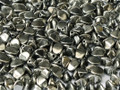 Pinch Beads - 5x3mm - Full Chrome (10 gr.)