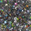 3mm Swarovski Bicones, Crystal Vitrail Medium (Qty: 50)