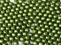 6mm Glass Round Beads, Pastel Olivine