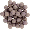 6mm Round Glass Beads, Pacifica Fig (Qty: 25)
