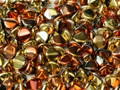 Pinch Beads, 5x3mm, California Gold Rush