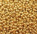 15-D4202, Medium Gold (Miyuki Duracoat) (13 gr.)