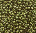 11-0306, Olive Green Gold Luster